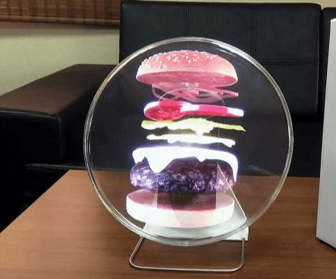 Голографический вентилятор фото